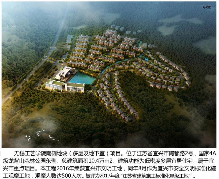 无锡工艺学院南侧地块项目-目标:无锡市太湖杯-第1张图片-南京九建