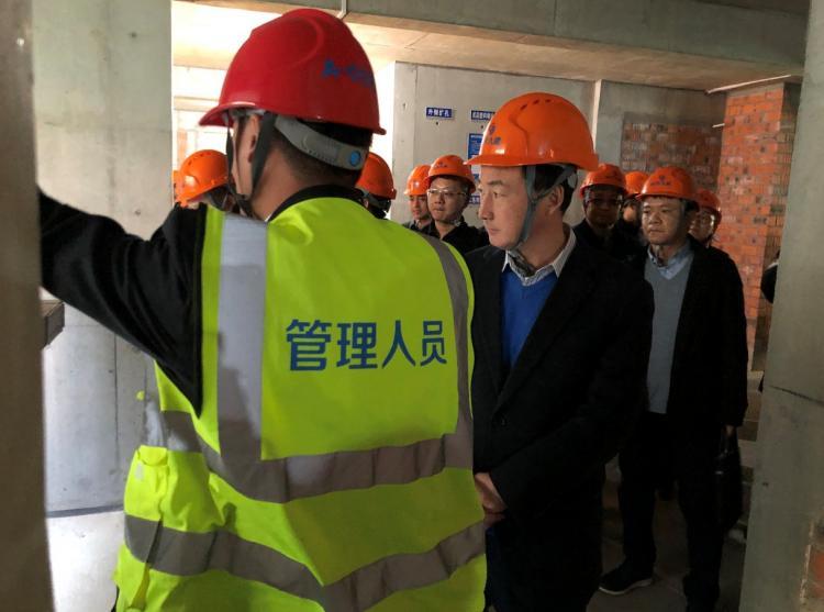 """""""工地长""""观摩安全生产及扬尘管控现场观摩活动在我司G08项目顺利举行-第2张图片-南京九建"""
